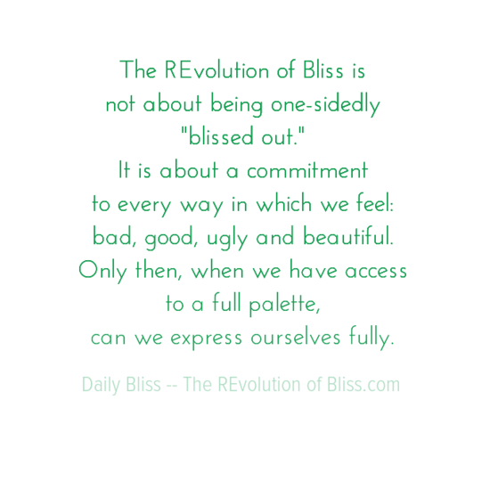 therevolutionofblissis0anotaboutbeingone-sidedly0a22blissedout220aitisaboutacommitment0atoeverywayin-default